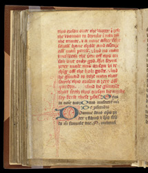 English Rubric And Latin Prayer For A Woman, In A Prayerbook